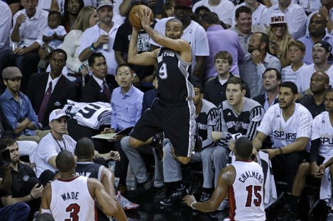 Tony Parker chipped in with 19 points and two assists.