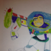 This child's unintentionally hilarious drawing will ruin Buzz Lightyear for you
