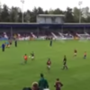 9 year-old Galway soccer player hits the net after stunning chip and volley