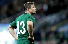 Ireland 'up to 40%' more likely to win with Brian O'Driscoll on the field