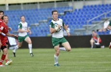 Emerging Ireland beat Russia 66-0 despite playing just 45 minutes