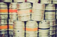 Gardaí discover 1000 stolen beer kegs