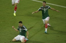 Peralta strikes as Mexico outclass sorry Cameroon