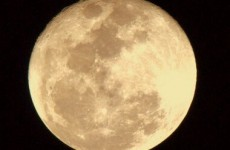 Take a look at the big, beautiful Friday 13 moon