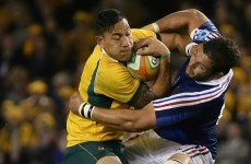 Wallabies grind out win in ugly second Test against Les Bleus