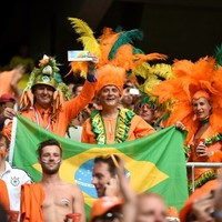 Letter from Brazil: Netherlands' big orange bus rumbles on as Spain fall hard