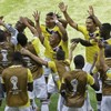 Colombia take the lead against Greece and celebrate in style