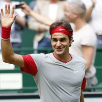 Roger Federer had no idea he won his semi-final today