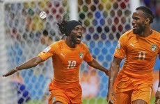 Bony and Gervinho on target as Ivory Coast power to comeback win over Japan