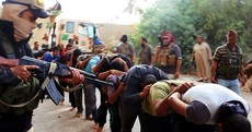 Militants post terrifying images of captured Iraqi soldiers