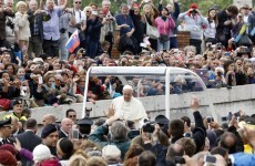 The Pope has ditched the bulletproof Popemobile