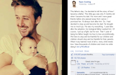 A Facebook page duped almost a million people with a Ryan Gosling adoption hoax