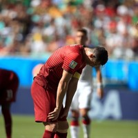 Ronaldo storms past reporters after Portugal flop, Rihanna offers her commiserations