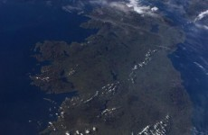 Hey, that's us! Astronaut tweets shot of a (mostly) cloudless Ireland