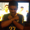 Deaf and blind, but a friend helped this Brazilian to live every minute of the World Cup