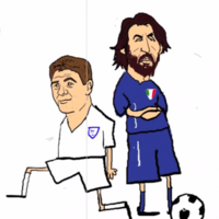 'How to boss the midfield' -- This Andrea Pirlo cartoon is 46 seconds of absolute perfection