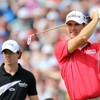 McIlroy and Harrington together for Irish Open opening rounds