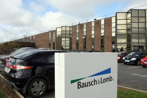 The Bausch & Lomb plant in Waterford