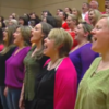 Dublin choirs perform Elbow anthem perfect for One Day Like This