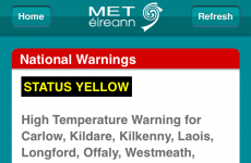 Met Éireann are officially warning people that it's almost TOO hot