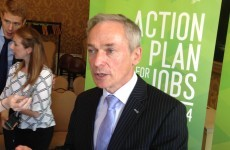 Does Richard Bruton want James Reilly's job?*