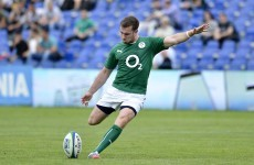 Butler double drives Emerging Ireland to seven-try win over Uruguay