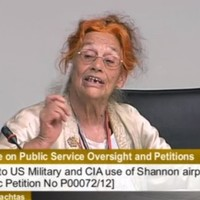 """We are now a blood-ridden country"": Margaretta D'Arcy rounds on TDs over Shannon..."