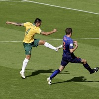 Tim Cahill's goal of the tournament contender against the Dutch