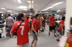 Chile fans storm stadium ahead of Spain clash