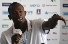 Bolt: I'm good enough to play for Man United