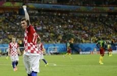 Croatia set up Mexican stand-off after taming 'Indomitable Lions'