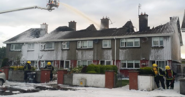 Four homes destroyed in Meath fire overnight