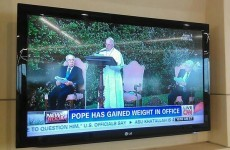CNN accuses Pope Francis of gaining a few extra pounds