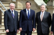 Cameron makes historic address to Stormont assembly