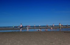Don't go swimming at Bettystown Beach - the water's not fine