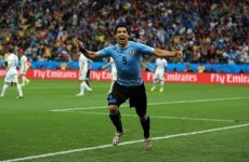 Luis Suarez brace sinks England as Rooney taps in his first World Cup goal
