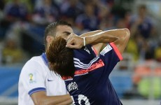 Did you stay up all night watching that awful Japan v Greece match?