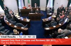 The government doesn't have a majority in the Seanad and has to change the law to get it back
