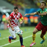 Croatian captain Darijo Srna is the World Cup's fastest player