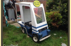 Pat Mustard's milk float is for sale on DoneDeal