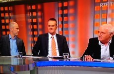 Things got heated between Kenny Cunningham and Eamon Dunphy on RTE earlier