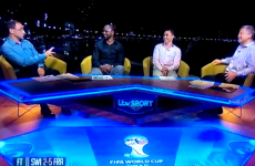 Martin O'Neill burned Fabio Cannavaro and Patrick Vieira on ITV tonight