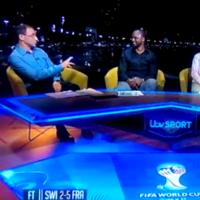Martin O'Neill burned Fabio Cannavaro and Patrick Vieira on ITV tonight