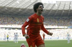 Belgian outcast Fellaini determined to prove his worth at Man United