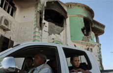 New round of NATO strikes hit the outskirts of Tripoli