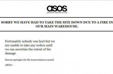 Asos stops taking orders after blaze at main warehouse
