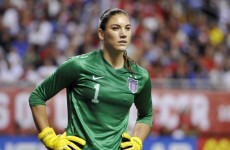 US women's goalkeeper Hope Solo arrested after alleged domestic assault