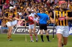 'Michael Fennelly giving a slap of the hurl across the arse. Yes you did. Free in'