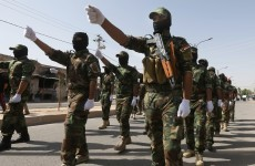 Iraqi troops show strength, but ISIS captures key crossing