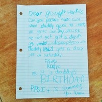 Little girl writes letter to Google... and Google writes the perfect reply